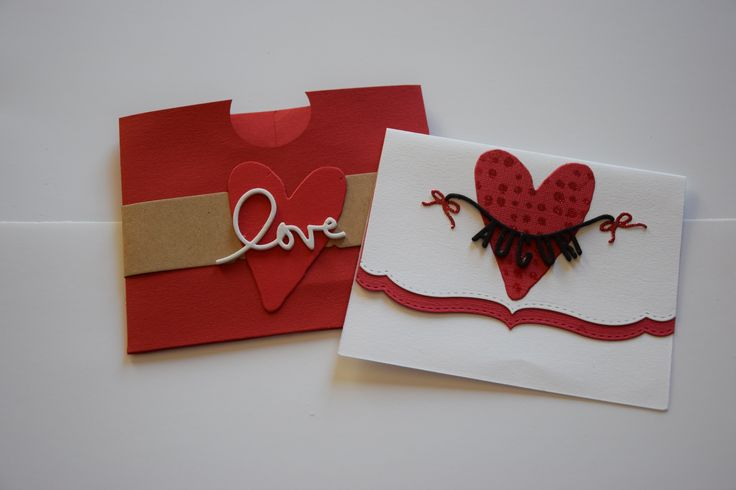 Valentine's Day - Card with envelope