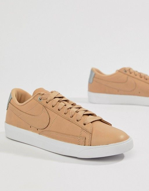 4950e0d59604 Nike Blazer Trainers In Sand