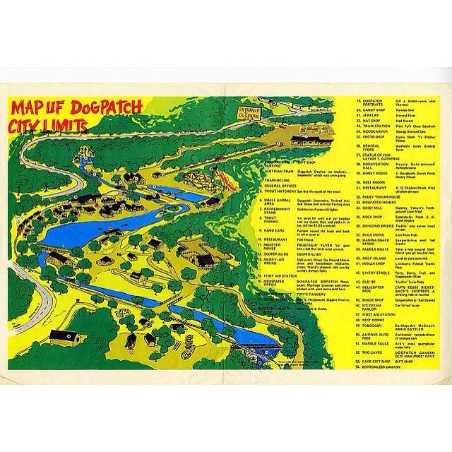 Best DOGPATCH USA Images On Pinterest Arkansas Abandoned - Us hillbilly map