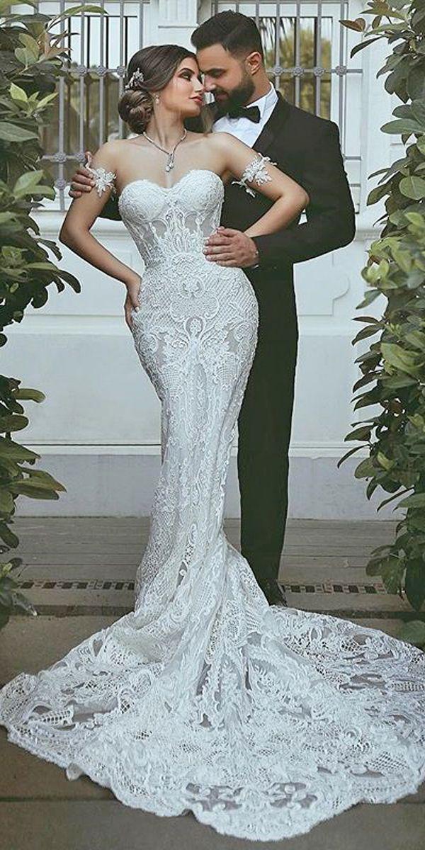 30 Mermaid Wedding Dresses You Admire Boda Vestidos De