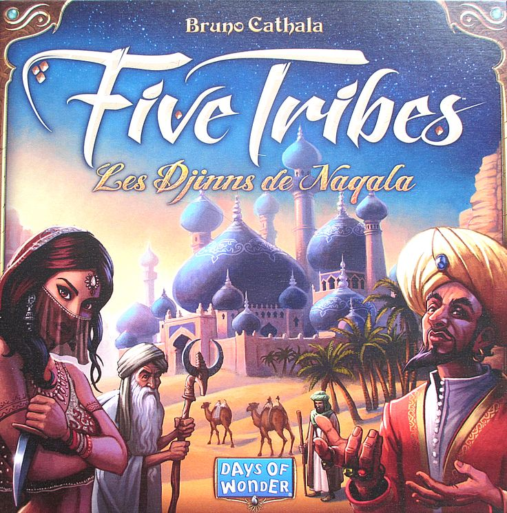 recto_fivetribes.JPG (1009×1024) Five Tribes (Days Of Wonder)