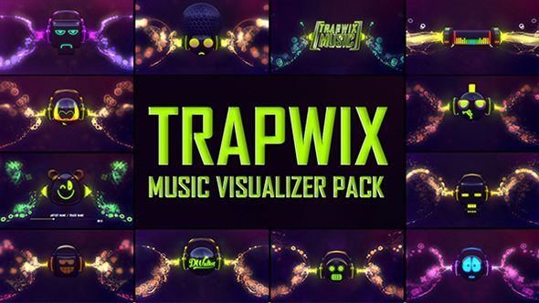 PROJECT DESCRIPTION The TrapWix Music Visualizer Pack is a