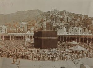 Historic Mecca: Picture of the Sanctuary of Mecca the Great