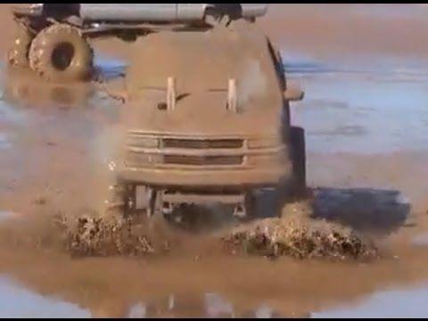 Monster Trucks Gone Wild at Crazy MudFest 2015 Compilation
