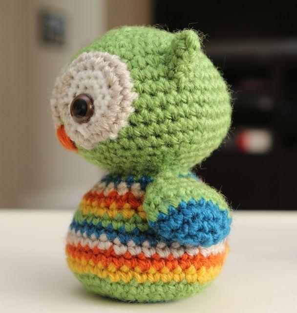 Little Muggles | Baby Owl Free Pattern!