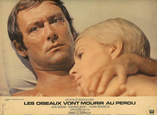 Jean Seberg Maurice Ronet Les oiseaux vont mourir au Perou 1968
