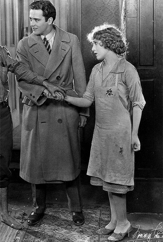 Mary Pickford and Buddy Rogers in My Best Girl, 1927.