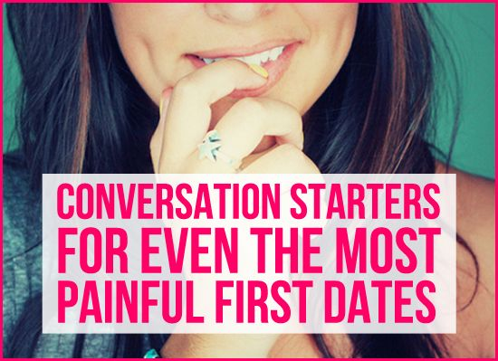 Well, I haven't been on a first date in four years, but this is useful for classmates, customers, and random new peeps