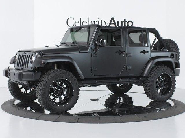 Matte Black Jeep Jk Google Search Linex Jeeps Black