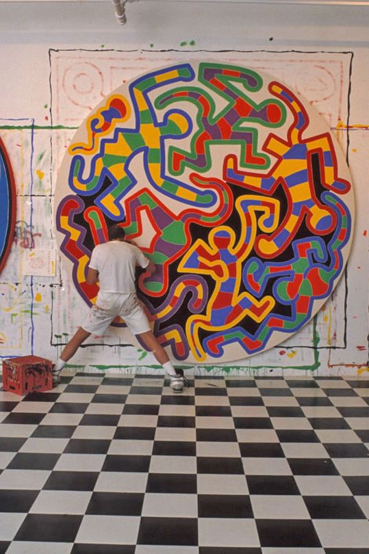 Keith Haring.                                                                                                                                                     Plus