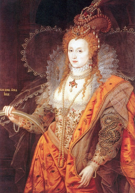 "Isaac Oliver ""Queen Elizabeth I : The Rainbow Portrait"" 1600"