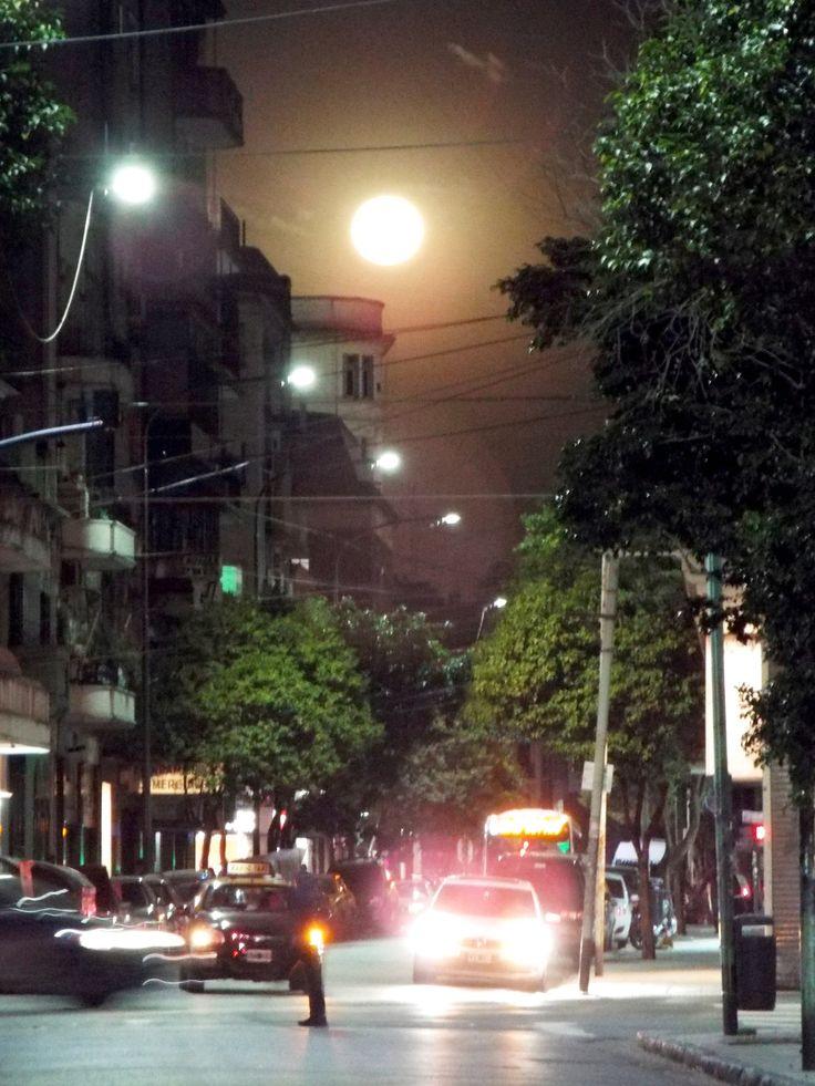 City night. Balvanera, Buenos Aires.