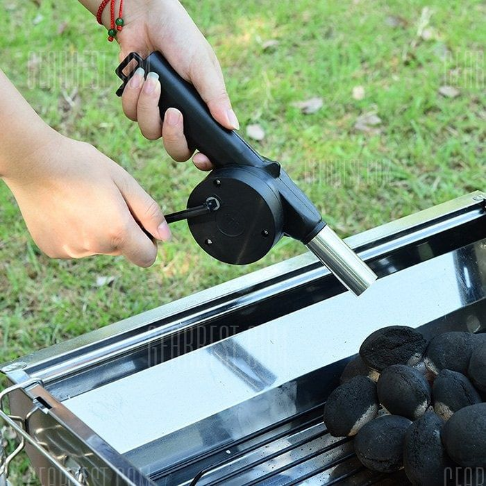 Outdoor Portable Manual Powered BBQ Air Blower Sale, Price