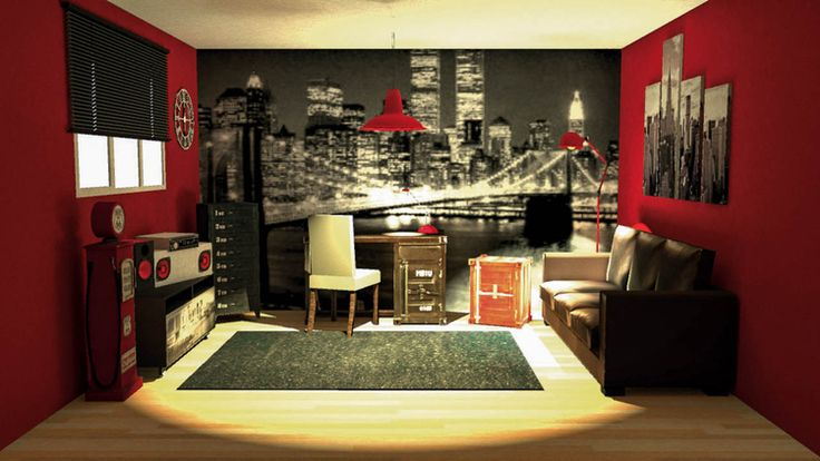 25 best ideas about idee deco chambre garcon on pinterest - Decoration chambre new york ...
