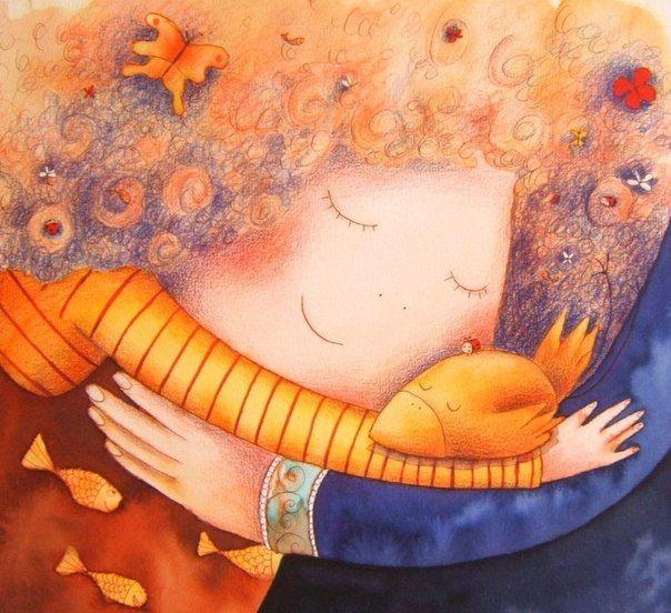 Добрые милые картинки согревающие сердце