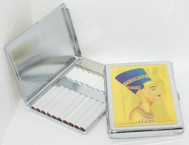 Zigarettenetui Zigarettenbox für 10 Zigaretten mit Feuerzeug 3D Wackelbild Etui de.picclick.com