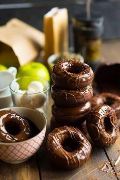 Шоколадные пончики из духовки