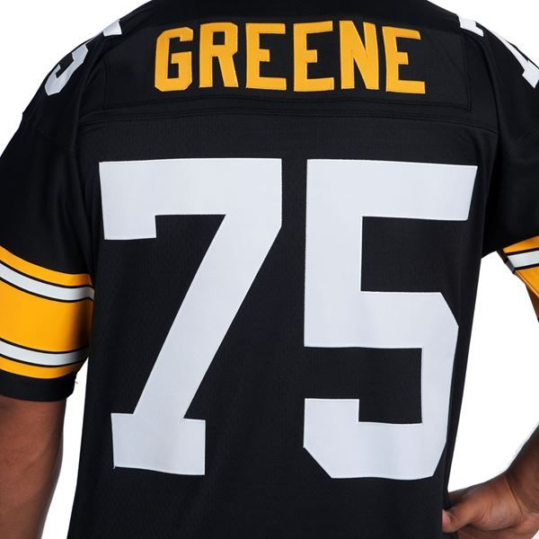 Picture of Pittsburgh Steelers Mitchell & Ness Premier Replica #75 Joe Greene Home Jersey