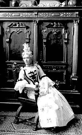 Miss Van Horne as Madame Jolliet Montreal, 1898