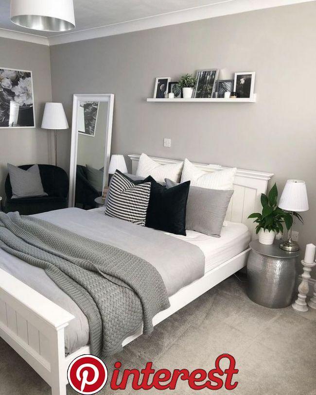 Top 10 Grey Bedroom Ideas In 2019 Small Room Simple Interior