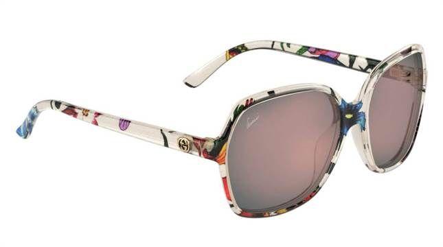 Blommiga solglasögon från Gucci, 3 195 kronor