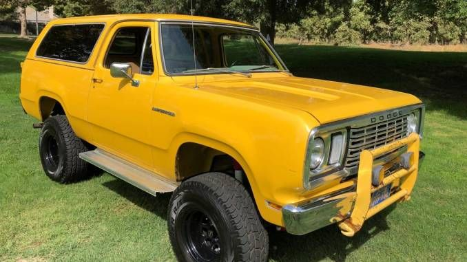 1977 Dodge Ramcharger 4 Inch Lift Kit For Sale In Visalia Ca