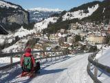 Winterwandelen bij de Jungfrau