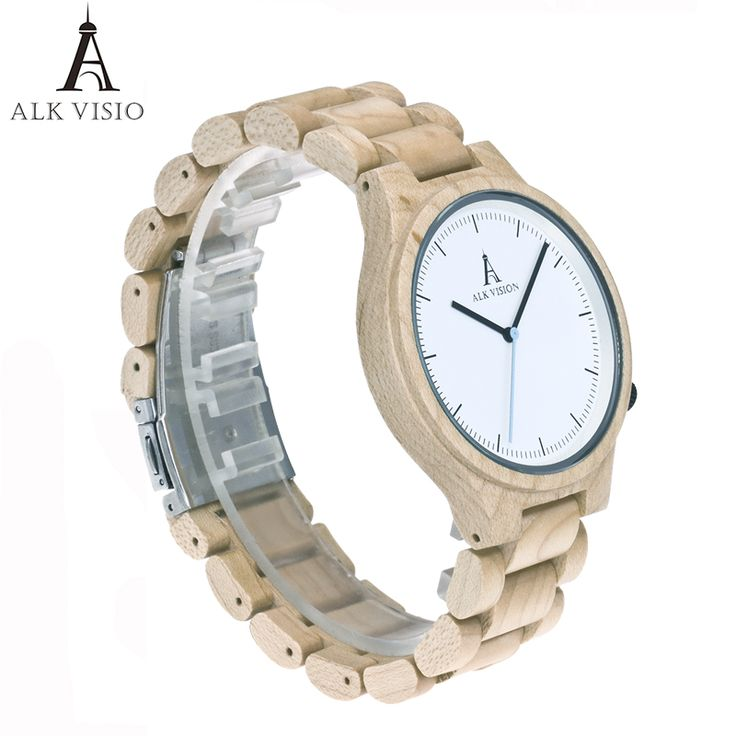 Cheap gifts for men, Buy Quality gift gifts directly from China gifts for women Suppliers: ALK Vision Men's Wood Watches japanese Quartz Wristwatch Gift for Men Women brand luxury Relogio Masculino Lovers ladies Watch