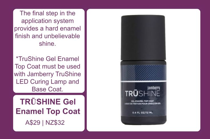 TruShine Gel Enamel Top Coat