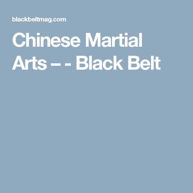 Chinese Martial Arts – - Black Belt