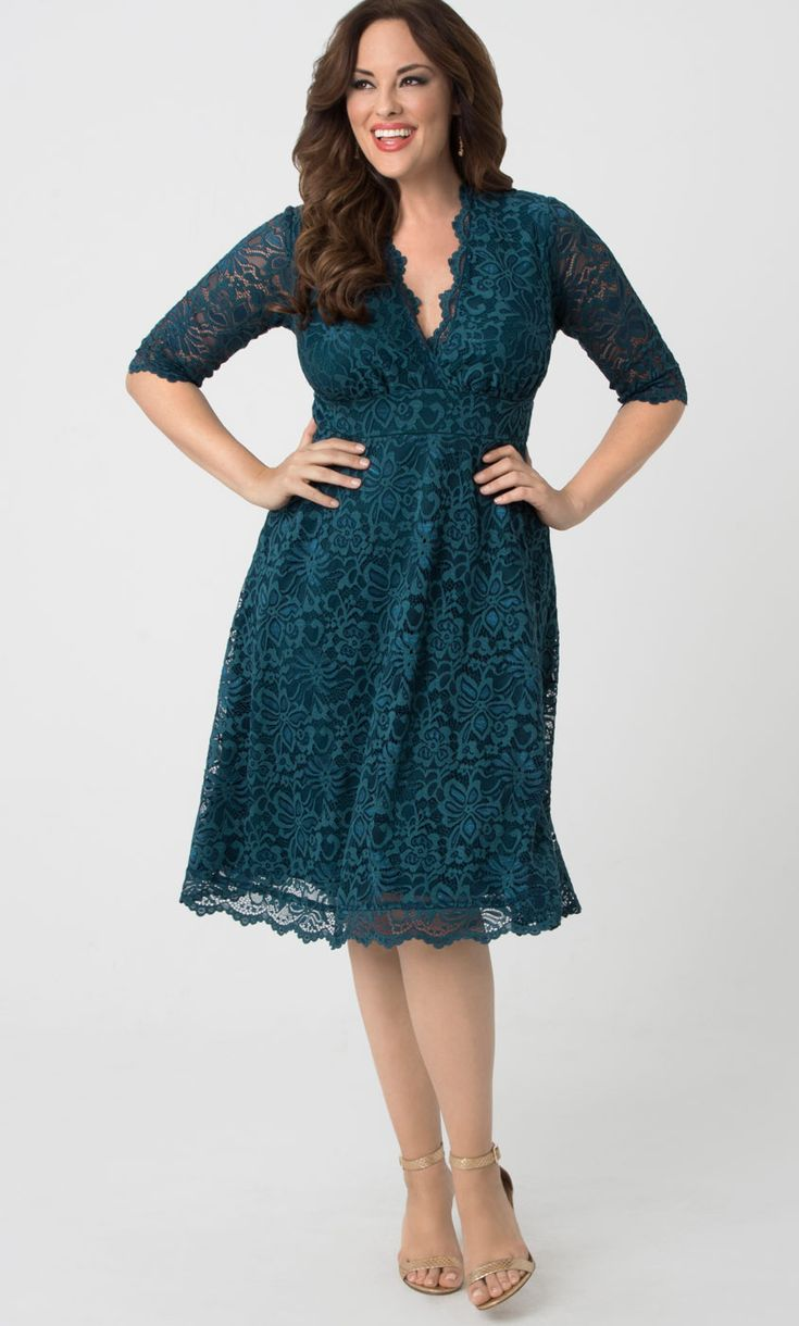 Dress for Women, Evening Cocktail Party On Sale, Slate Green, Viscose, 2017, 10 12 6 8 Met