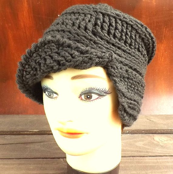CLAIRISSE Womens Crochet Hat Pattern Crochet by strawberrycouture