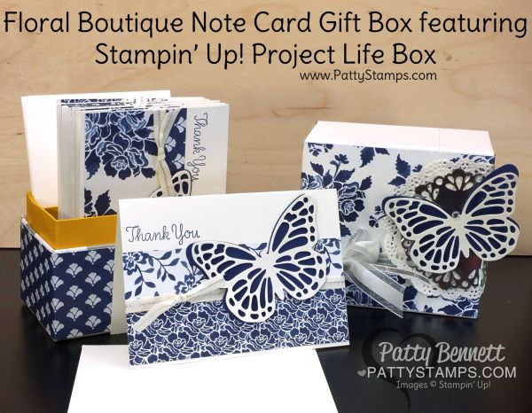 Special Offer from Patty - Note Card Gift Box | Patty's Stamping Spot | Bloglovin'