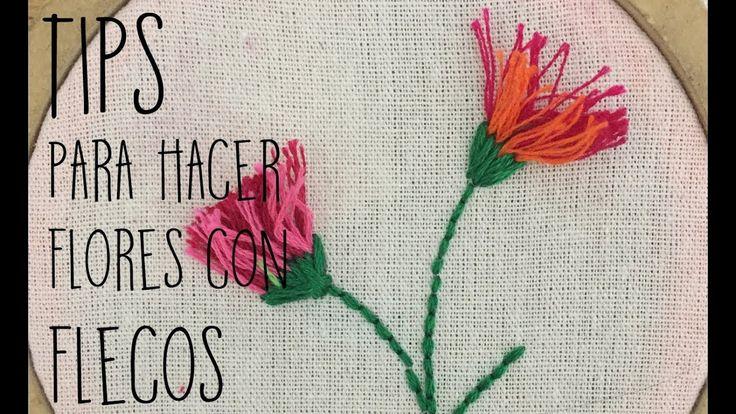 :::TIPS para hacer flores con FLECOS:::