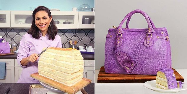 Handbag Cake Tutorial by Elisa Strauss