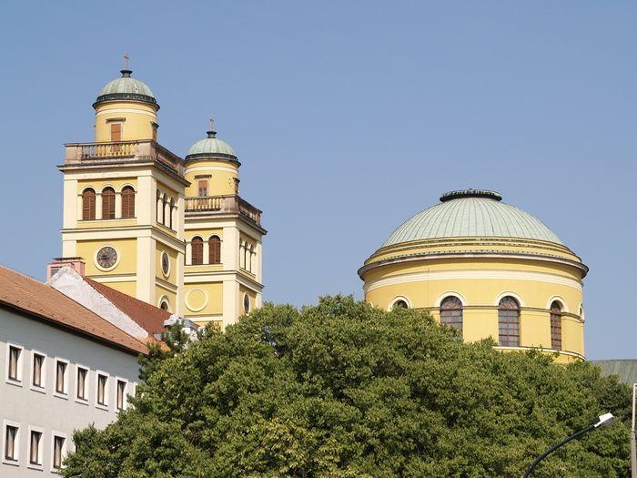Basilica of Eger.Hungary