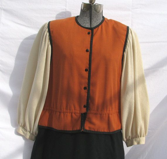Vintage 1980s dress tunic by Raul Blanco in by TheVintageDomain, $38.00