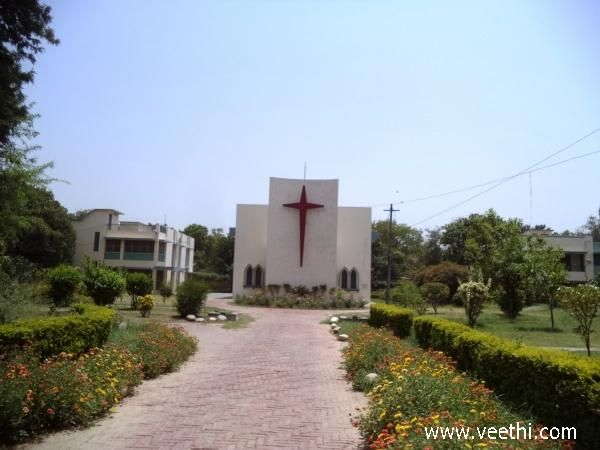 Saint Luke's Church, Saket, Meerut...passed by this church for years cycling to school. Often stopped by to admire the grandeur look.