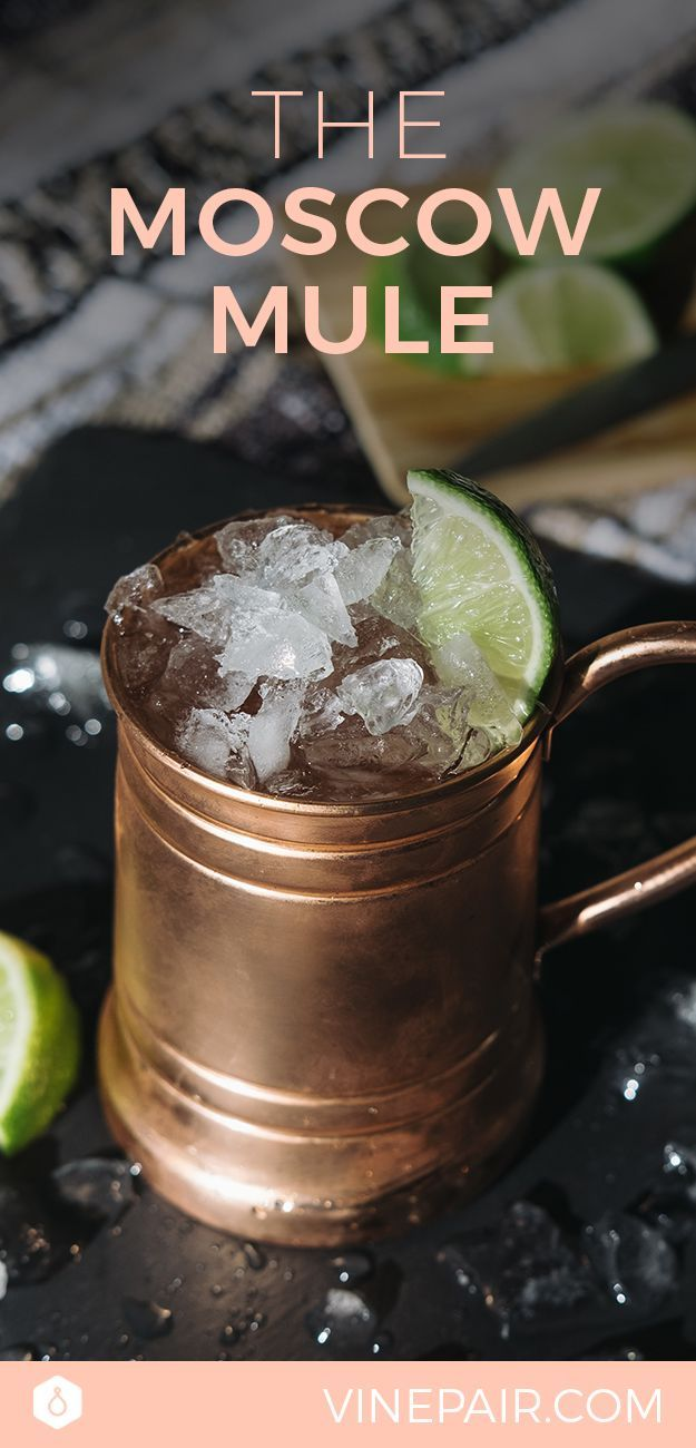 The Classic Moscow Mule Cocktail Recipe