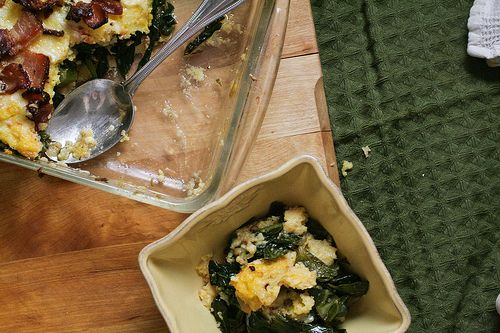 Grits & Greens Casserole with Bacon | Recipes - Current Dinner Ideas ...