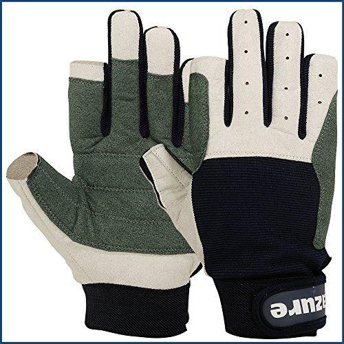 Strong AMARA Navy Blue Sailing Gloves F/F (XX Large)