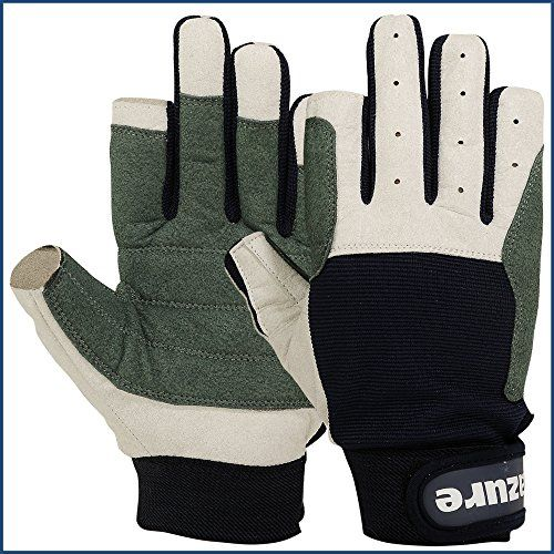 Strong AMARA Navy Blue Sailing Gloves F/F (X-Large)