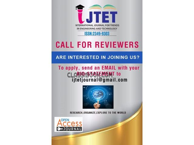listing Call for reviewers is published on FREE CLASSIFIEDS INDIA - http://classibook.com/professional-short-term-courses-in-coimbatore-29103