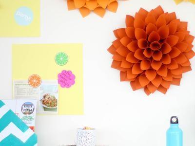 Easy DIY Craft: Paper Dahlias