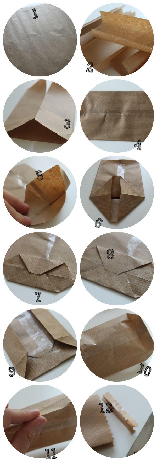 15 Minuten: Bruine Zakjes van Papier
