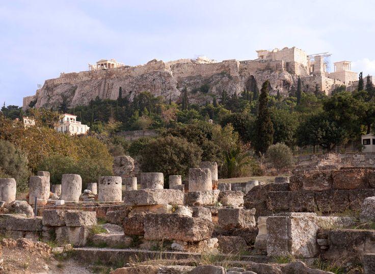 The Acropolis via @revealgreece