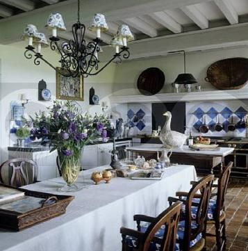 59 Best Country French Kitchens Images On Pinterest