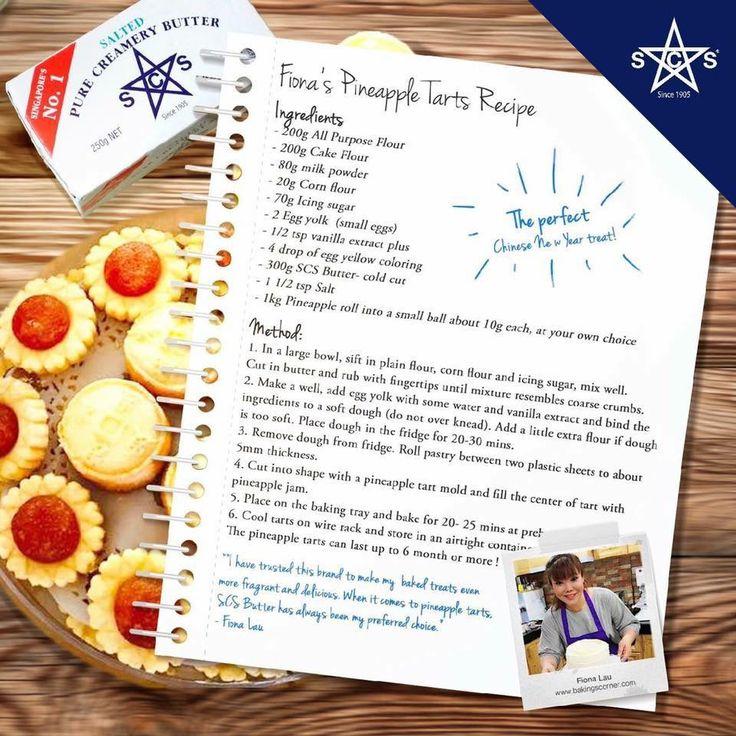 Fiona's Pineapple Tarts Recipe
