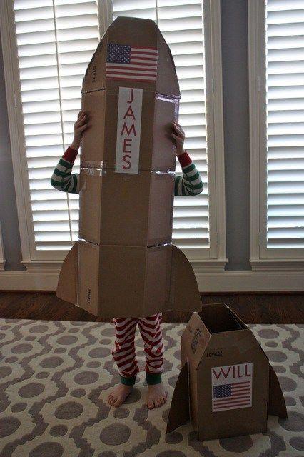 cardboard-rocket