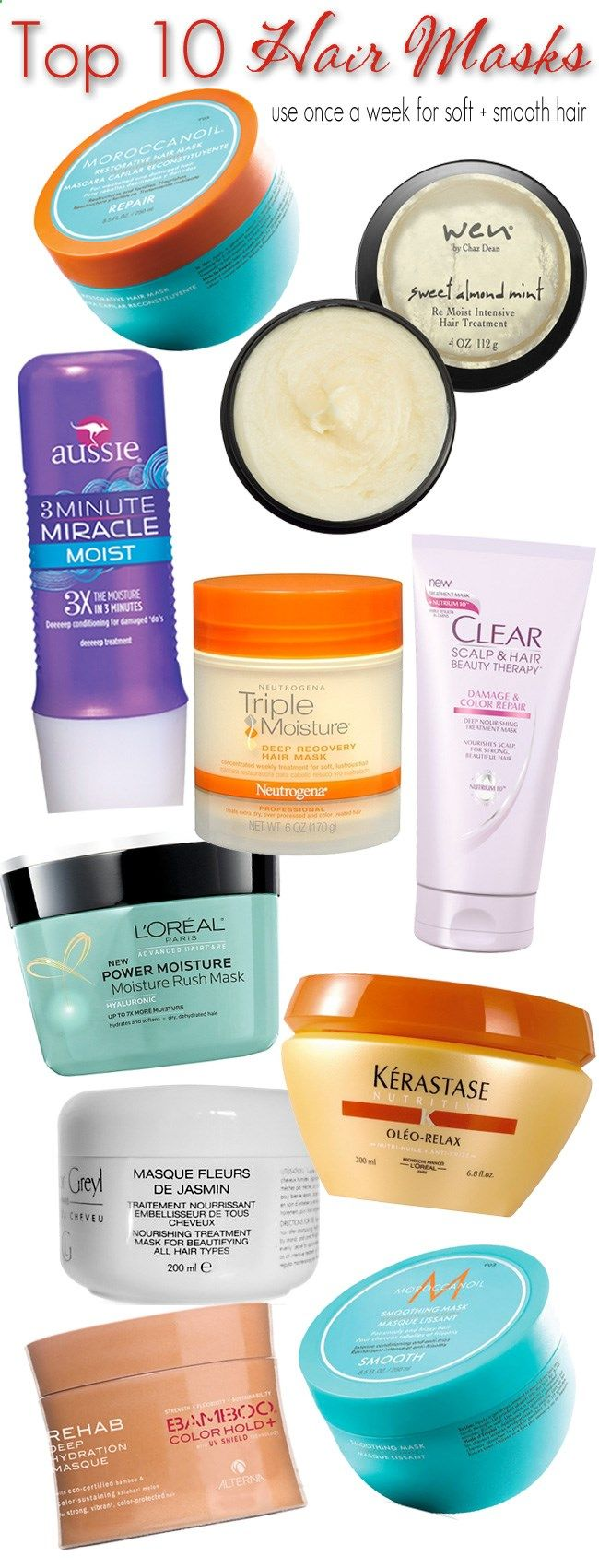 Hair Mask - With everything I put my hair through - coloring, blowdrying, teasing, curling, volumizing, flat i...